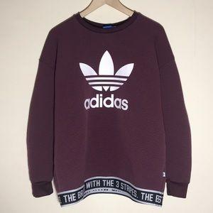🔥Adidas Maroon Sweatshirt